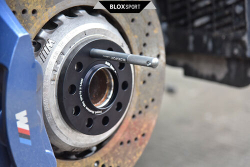 2008 2x 14x1.25 Bolt Wheel Hanger For BMW 7 Forged 7075-T6 F01, F02, F03, F04