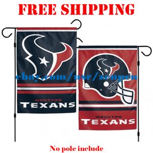 97a4d5e4ab35b6 Houston Texans Logo Garden Outdoor Flag Double Sides 12x18