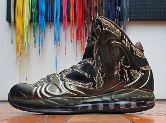 Nike air hyperposite tiger camo größe 13.5.524826-300 13.5.524826-300 größe jordan foamposite 13 14. 2d128b