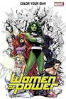 Color Your Own Women Of Power by Marvel Comics (Paperback, 2016)
