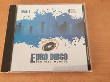 CD Euro Disco -The Lost Legends vol.1 (Lim. Edition: only 100 copies worldwide)