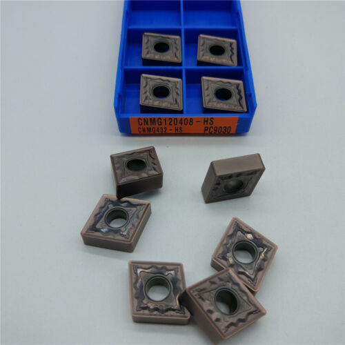 10pcs KORLOY CNMG120408-HS PC9030 CNMG432-HS PC9030 Carbide Inserts New