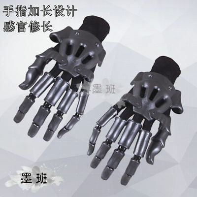 Violet Evergarden Gloves Hand Gauntlet Knuckles 1 Pair Cosplay Prop Accessory