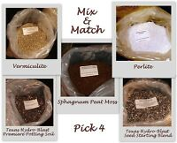 Mix/ Match: Peat Moss,vermiculite,perlite,seed Starter/ Potting Soil 5q Psnature
