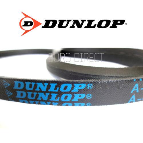 DUNLOP Premium Qualità chloroprene V Cintura-una sezione tg A30-A80 13mm x 8mm