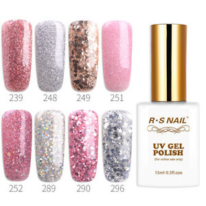 RS-Nail-Gel-Nail-Polish-UV-LED-Varnish-Soak-Off-Glitter-Colours-15ml