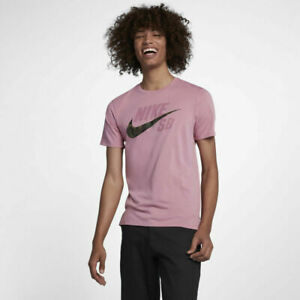Nike SB Logo Dry Men's Camo Pink T