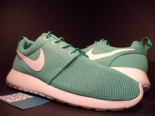 2013 Nike ROSHERUN ROSHE RUN GAMMA GREEN SAIL WHITE GREY MINT 511881-310 DS 11