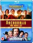 Anchorman 1 and 2 (uk) BLURAY