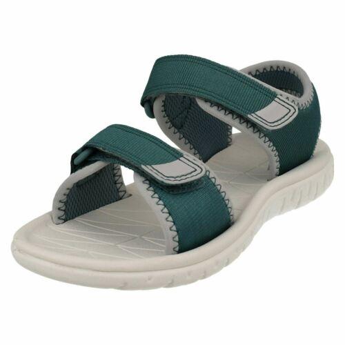 Clarks Childrens Light Weight Sandals Surfing Tide T