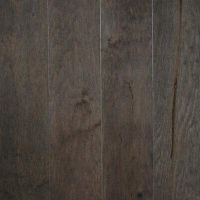Maple Charcoal Engineered Click Lock Hardwood Flooring 1