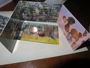 FINLANDE -  2011 PC 1 Cent - 5 Cent Mini coffret  Dans Dossier