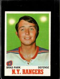 1970-71-TOPPS-67-BRAD-PARK-VG-RC-ROOKIE-NY-RANGERS-HOF-NICELY-CENTERED-X2056
