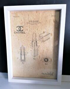 Cadre décoration vintage dépôt de brevet invention  CHANEL