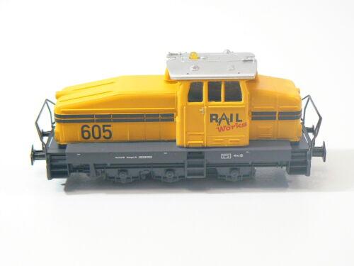 nuevo digital Märklin h0 de 29184 mfx industria maniobra diesellok amarillo