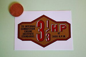 Briggs-amp-Stratton-3-1-3-hp-banner-decal-late-50-039-s-59-33