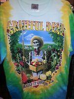 Grateful Dead Keep It Green Tie Dye T-shirt Double Sided