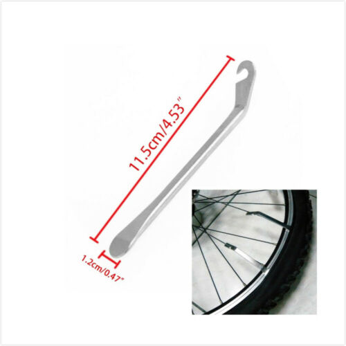 3X Bicycle Tire Lever Tyre Spoon Iron Changing Tool Bike Levers Stainless Steel