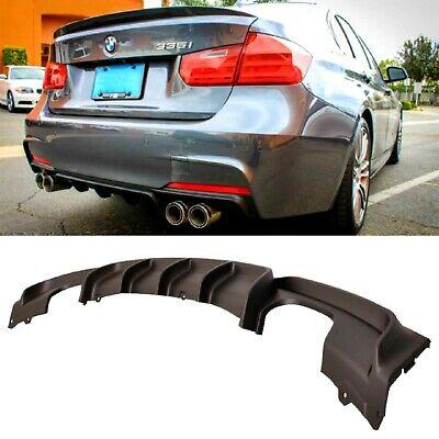 Fydun 2 pezzi in lega di alluminio universale paraurti posteriore Race Air Diversion pannello diffusore car styling