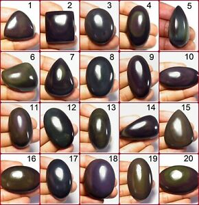Rainbow obsidian gemstone From Mexico 42 Cts R-6825 Very Nice Natural Rainbow obsidian Fire Cabochon gemstone Rainbow obsidian Loose Stone