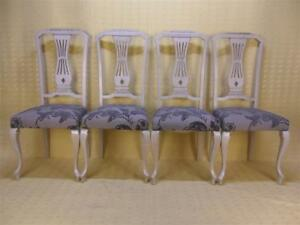 4-CHAISES-style-CHIPPENDALE-LOUIS-XV-BROCANTIC-ANTIQUITES-BROCANTE-OCCASION