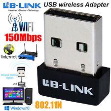Mini USB Adaptador Inalámbrico WIFI 150 Mbps 802.11 B G N Dongle Adaptador de red LAN
