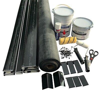 Epdm Rubber Roof Kit For Flat Dormer Roofs All Sizes