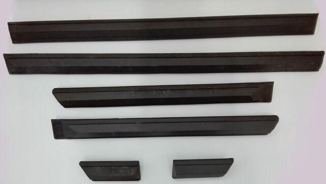 Set di modanature paracolpi Fiat 132  - Mouldings complete set Fiat 132