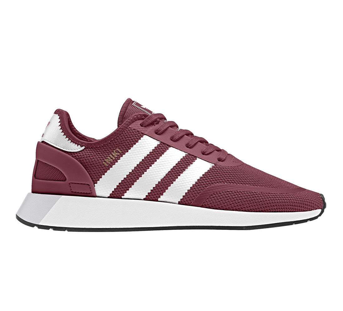 Adidas Schuhe Turnschuhe N-5923 Iniki Runner Stripes Leder Neu Neu Neu div Modelle & Farben 00e101