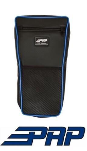 PRP Seats Center Bag Blue for 08-17 Polaris RZR Other Universal UTV Black