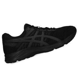 ASICS-MENS-Shoes-Contend-5-Black-Dark-Grey-US-Size