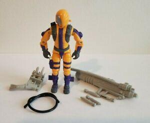 GI-Joe-Vintage-1989-Cobra-HEAT-VIPER-presque-complet-tres-bon-pas-de-fissures