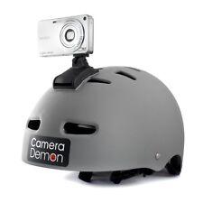 Helmet Camera Mount - Fits all Digital Cameras - Curved base - Camera Demon