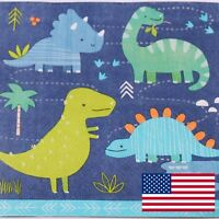 40pcs Dinosaur Paper Napkins Kids Birthday Party Tableware Luncheon Serviette P9