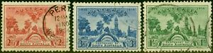 Australia 1936 Centenary of S.A. Set of 3 SG161-163 Fine Used Stamp