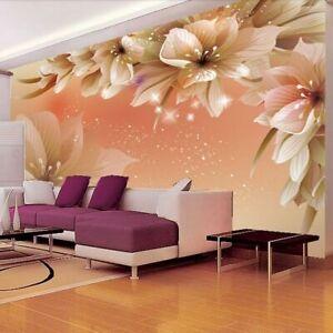 Living Room Wall Paper 3d Murals Flower Design Bedroom Elegant Wallpaper Covers