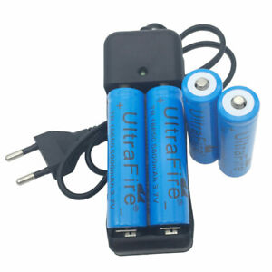 Batterie-4PCS-18650-5000-mAh-3-7-V-Li-ion-rechargeable-4-2-V-2-Slots-Chargeur-Smart
