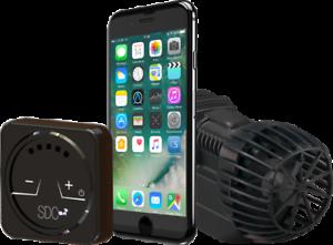 SICCE-XSTREAM-SDC-1000-8500-l-h-WiFi-regelbare-Stroemungspumpe-5-Jahre-Garantie