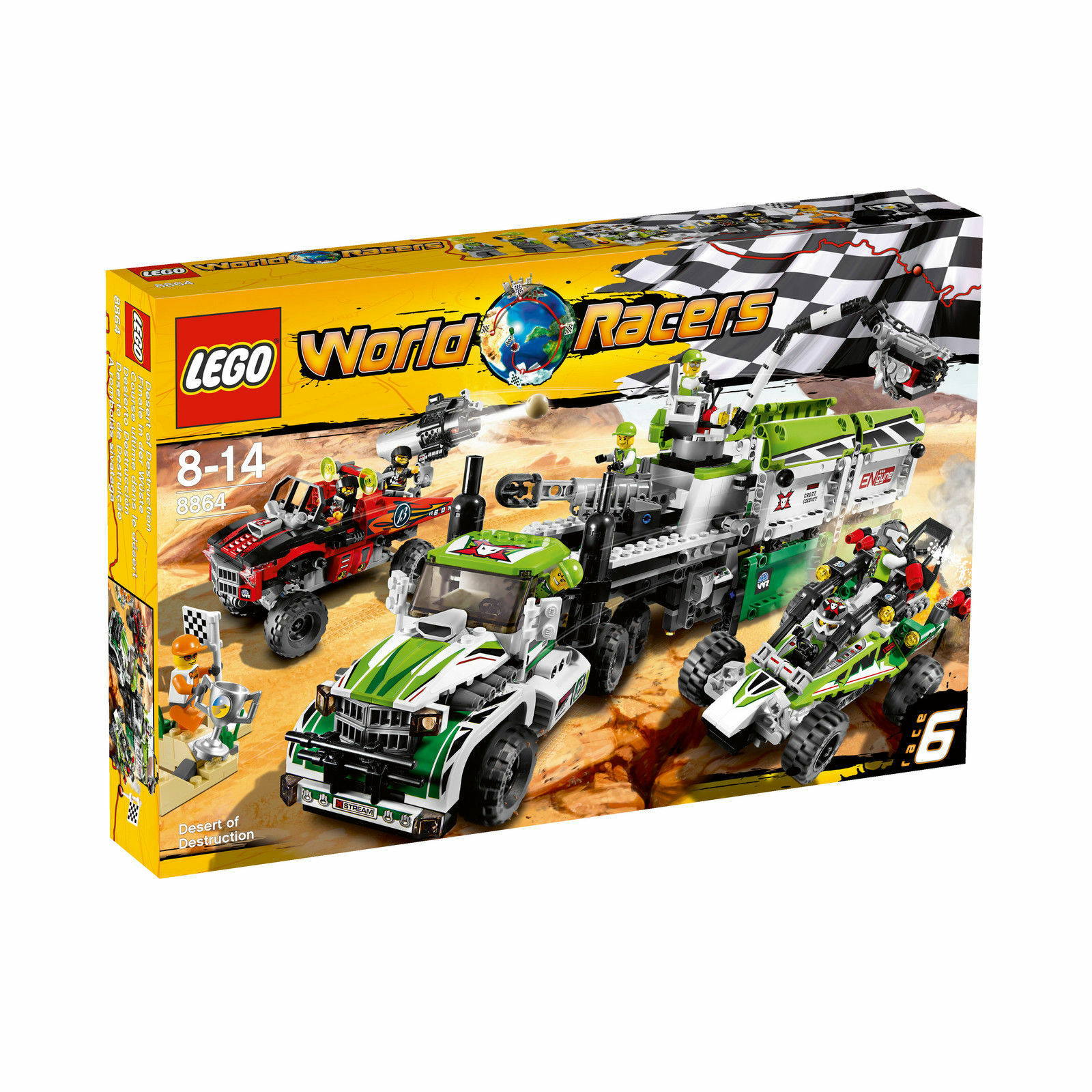 LEGO World Racers Finale in der Wüste (8864) L