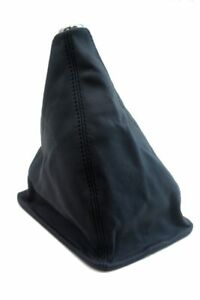 Manual Shift Boot Leather Synthetic for Toyota Tacoma 05-15 Black