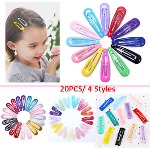 20pcs-Girl-Snap-Hair-Clips-Baby-Hairpins-Colorful-Metal-Barrettes-Accessories-WI