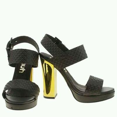Schuh Dazzler para mujer Tacones Altos Sandalias Size Uk 6