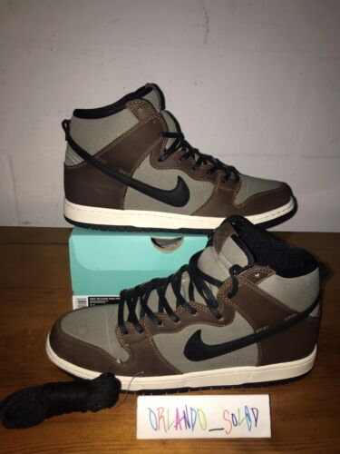 2019 Nike SB Dunk High Baroque Brown Size 11