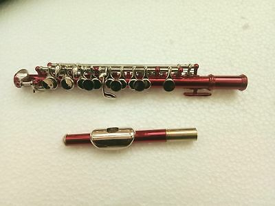 Musical Instruments & Gear Cooperative New Red Piccolo C Key Real Nickel Plated Great Material #1898
