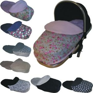 Wooly FOOTMUFFS to Fit Egg Pushchairs