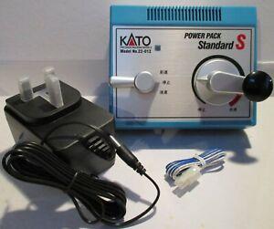 Kato-22-015-Train-Controller-amp-Transformer-12-Volt-Dc-Controle-Sortie-T48Post