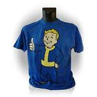 Fallout Vault Boys Thumbs up Medium T-shirt Blue Ge1646m