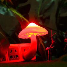 New Style Night Light Lava Lamps Led Small Portable Mushroom Lamp Bedside Wall