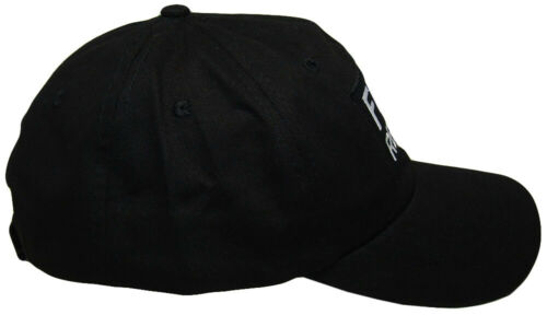 Fire Rescue Black Patch USA Flag On Side Embroidered Baseball Hat Cap RUF