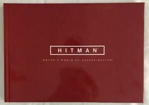 Square-Enix-Hitman-Enter-A-World-of-Assassination-60-Page-Hardcover-Artbook